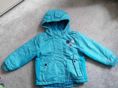 Kurtka zimowa narciarska dziewczęca 98-104