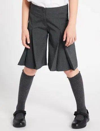 Кюлоты Юбка шорты в школу бренд TU 2021