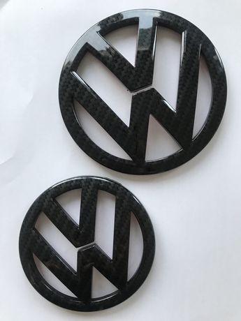 Znaczki /emblematy Volkswagen Scirocco carbon look