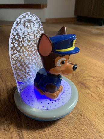 GoGlow Magic lampka nocna z latarką projektor 3w1 Psi patrol Chase