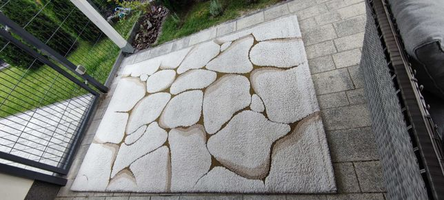 Dywan -efekt kamienia 160x220