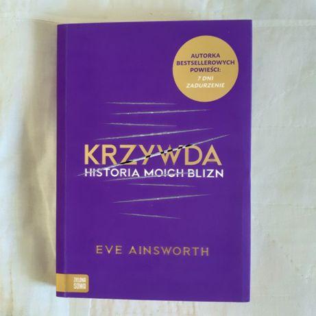 Książka Krzywda. Historia moich blizn – Ainsworth Eve