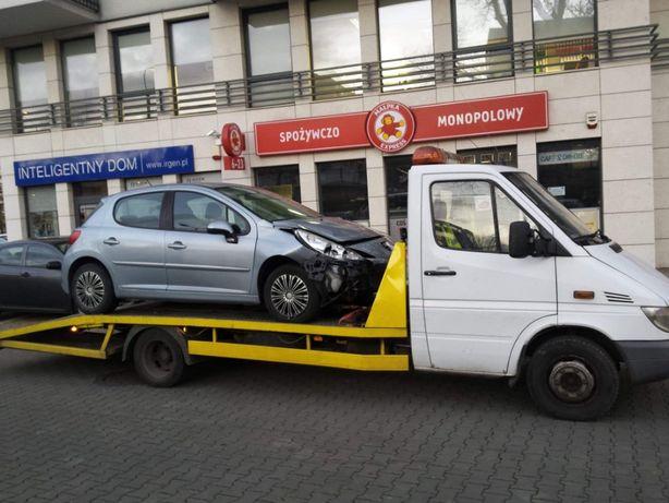 Autopomoc TANIO! Autolaweta transport pomoc drogowa dłużyca laweta!