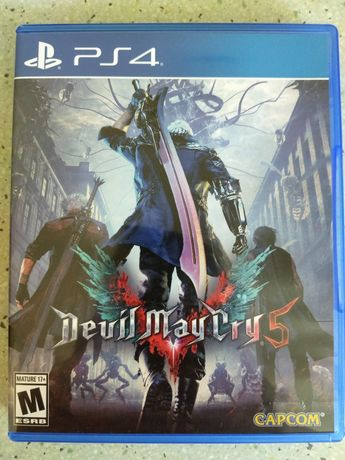 Диск Devil May Cry 5 (Playstation 4) PS4 Русские субтитры