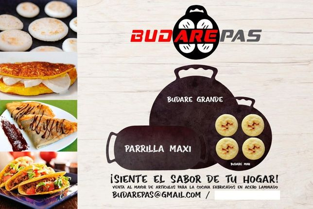 Budare / Grelhador / Aripo / Comal / Budarepas