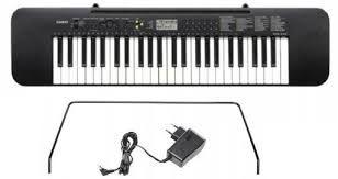 Casio CTK-240 Keyboard Gwarancja 5 Lat + Zasilacz słuchawki Pulpit