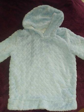 Очень теплый свитер на 9-10 лет девочка