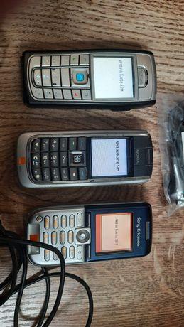 stare telefony komórkowe nokia sony Ericsson dla kolekcjonerów