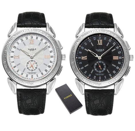 Męski zegarek Yazole - NOWY, rewelacyjna jakość, elegancki, PUDEŁKO