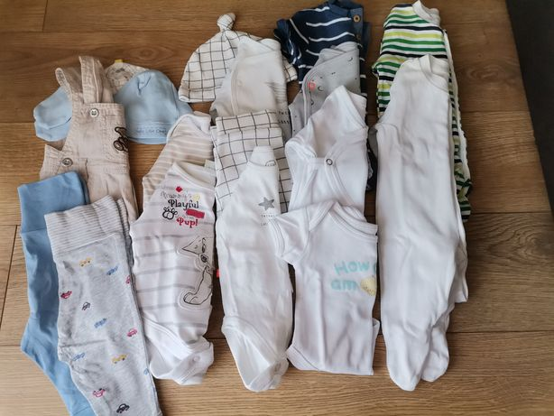 Zestaw ubrań 56 chłopiec +Gratis
