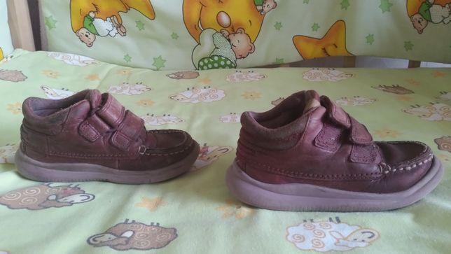 Ботинки на девочку, кожаные 24 размер