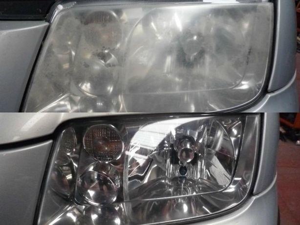 Polerowanie felg / lamp samochodowych