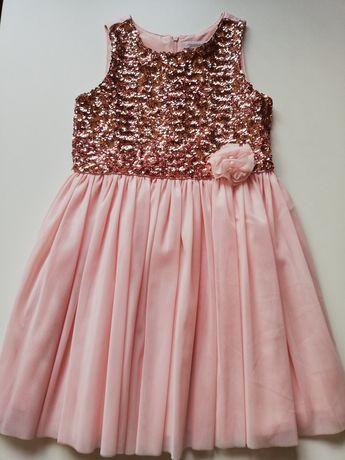 Piękna sukienka 6-7 lat
