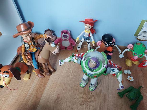 Zestaw bohaterów toy story Chudy Jessie Buzz Mustang Cienki