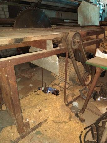 циркулярку деревообробний станок міцний мотор