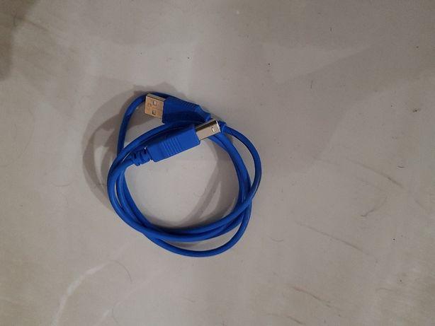 Przewód Drukarka - USB, Nowy, Polecam!