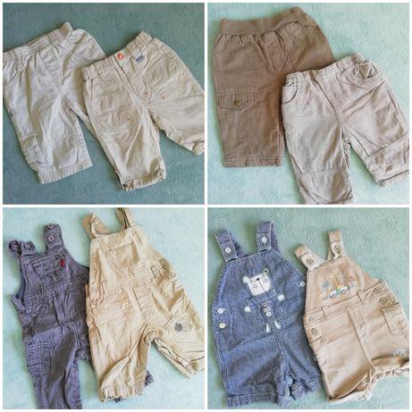 Zestaw paka ubrań ubranek dla chłopca w rozmiarze 62-68