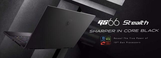 Laptop MSI GS66 i9 32GB 1T SSD RTX2070 Super MaxQ 15.6