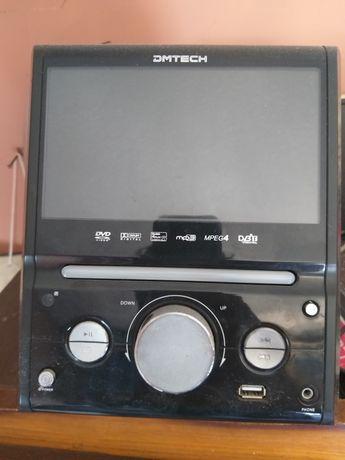 Leitor de DVD e CD com ecrã - DMTECH