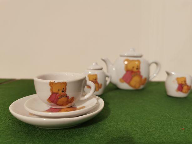 Serviço miniatura de brincar - Teddy Bear