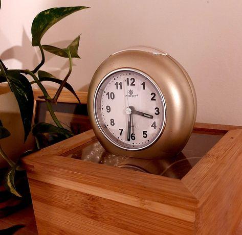 Zegarek budzik Perfect złoty