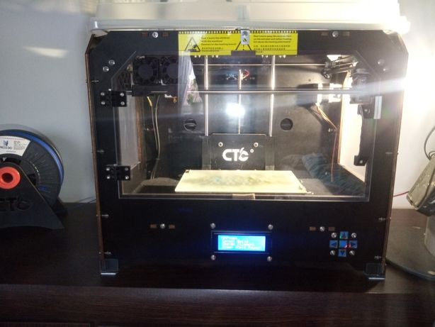 NOWA CENA drukarka 3D CTC BIZER PRO + filament