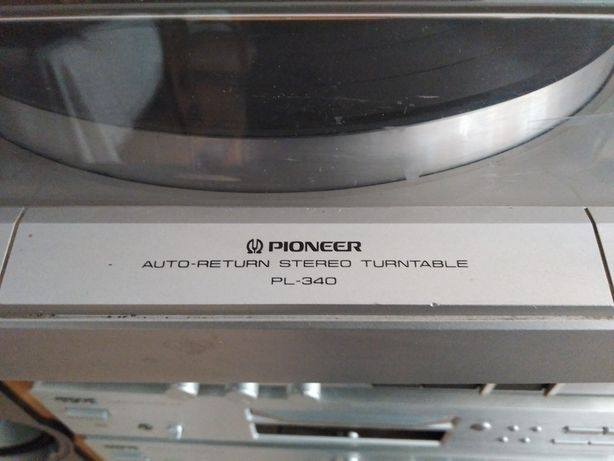 Gira discos pioneer pl-340