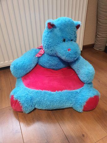 Fotel smiki hipopotam