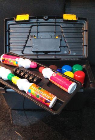Caixa para pinturas (escola) ou ferramentas