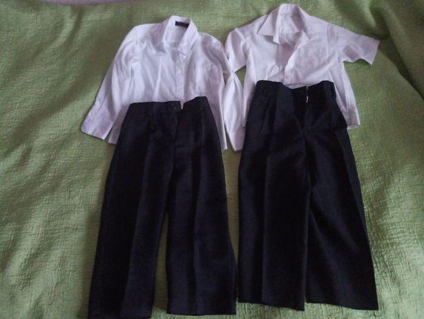 Рубашки и двое брюк