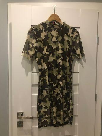 Sukienka Tommy Hilfiger/ Tommy Jeans XS moro