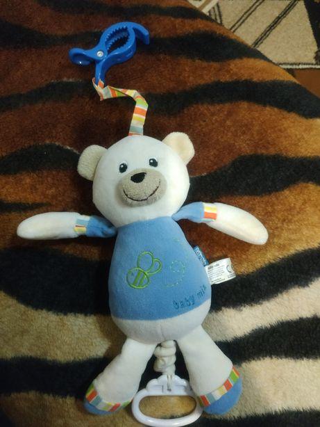 Музична підвіска ведмедик baby mix