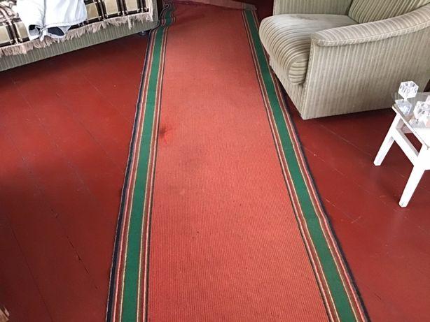 Продам б/у ковров. Дорожку ( шерсть )-4м*0.9-  300грн