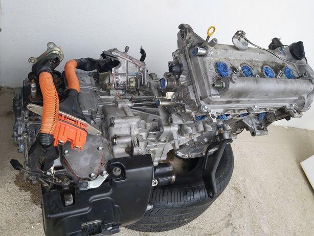 Motor de Toyota Prius 2008 completo, com caixa de mudanças