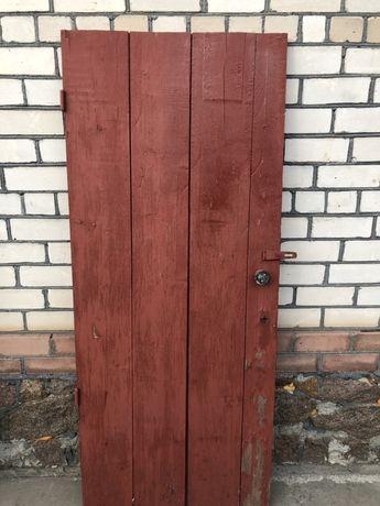 Дверь на хоз постройку