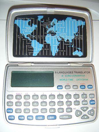 Tłumacz Językowy 6 języków Przelicznik Walut Czas Światowy Kalkulator