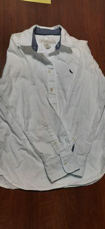 Biała koszula H&M 134 8-9 lat
