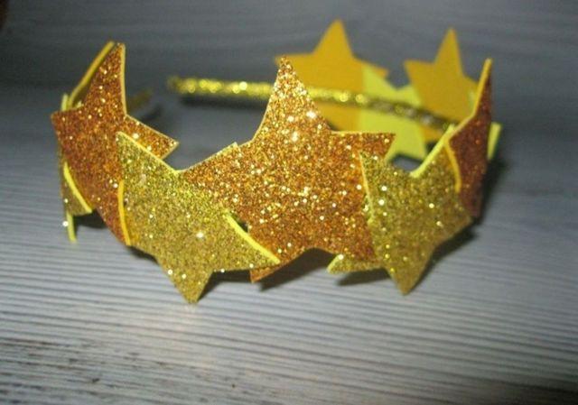 Обручі корона і зірочки ручної роботи