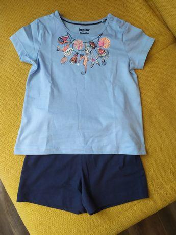 Летний костюм на девочку, шорты и футболка на девочку
