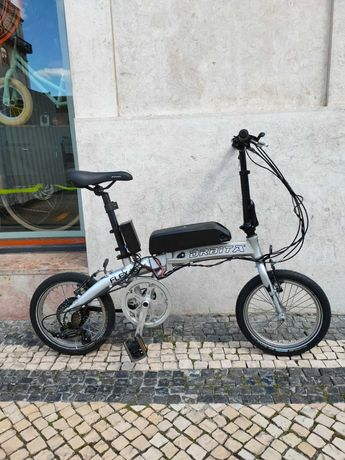 Bicicleta dobrável Órbita elétrica