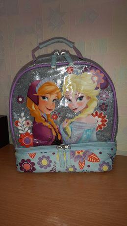 Ланч бокс сумка сумочка Анна и Эльза Холодное сердце Disney Frozen