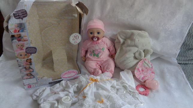 INTERAKTYWNA lalka Baby Annabell+Dodatki