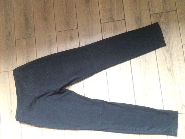 Чёрные зауженные штаны
