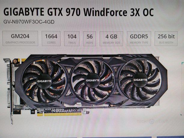 Karta graficzna Gigabyte GeForce GTX 970 OC