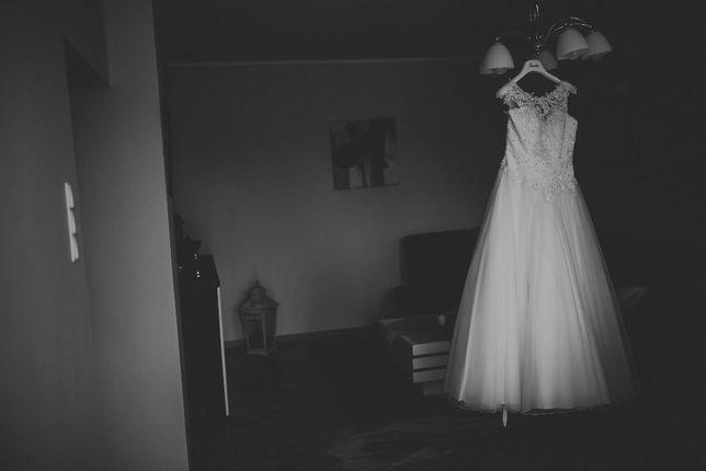 Piękna biała suknia ślubna SWEETHEART