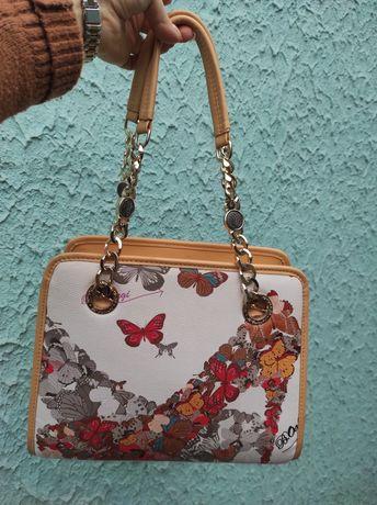 Роскошная сумка из экокожи на лето