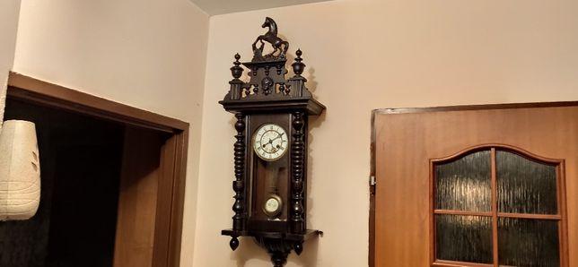 Ładny, stylowy zegar wiszący Omnia