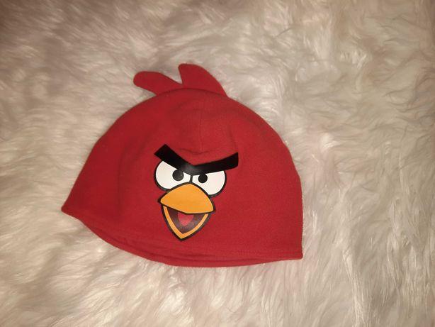 Шапка H&M Angry birds 3-5 лет флис, внутри хлопок
