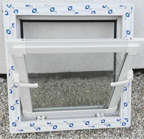 Okna gospodarcze PCV uchylne białe/kolor_do chlewni,obory,kurników