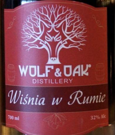 Wolf & Oak Wiśnie w rumie